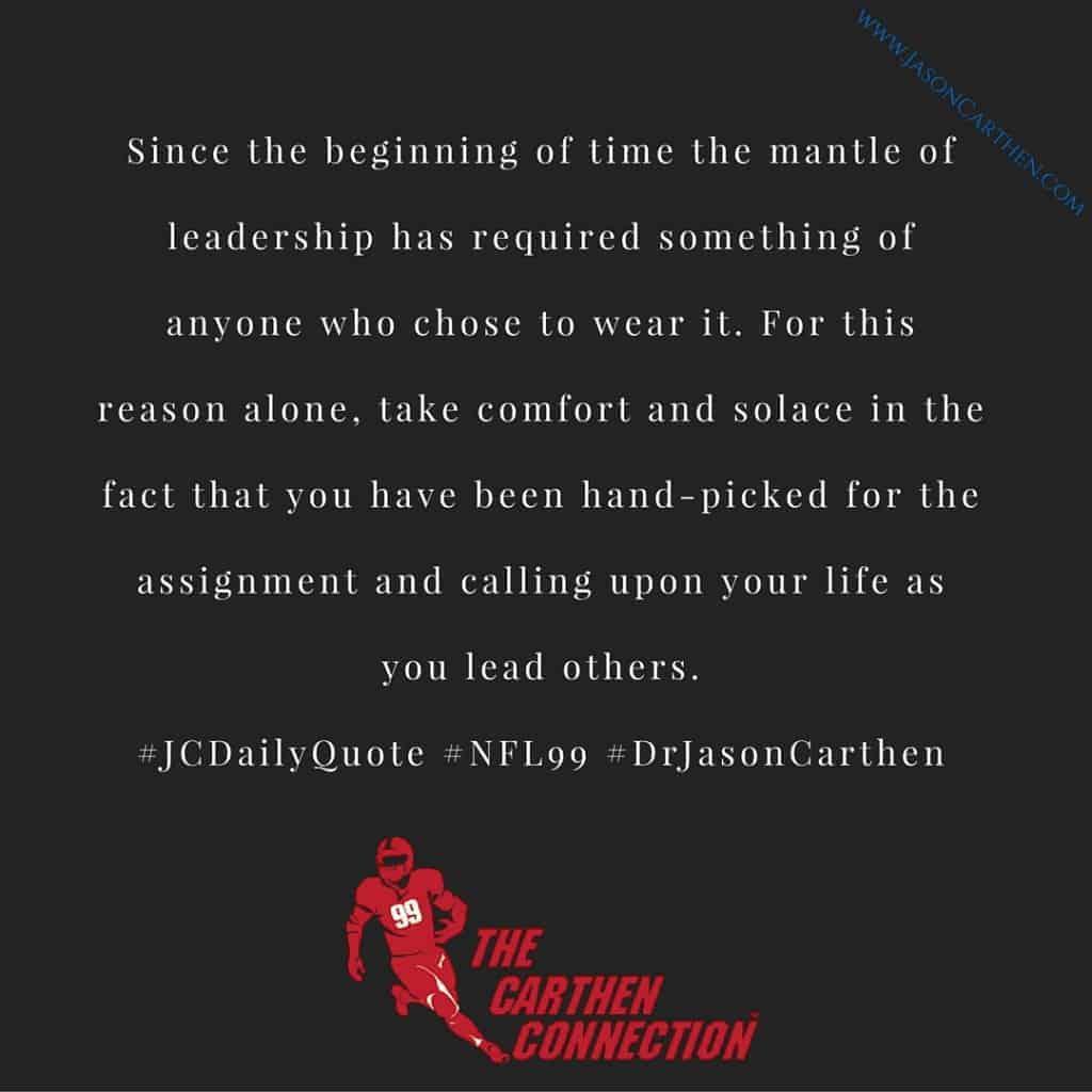 Dr. Jason Carthen: Mantle of Leadership