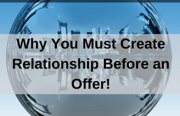 Dr. Jason Carthen: Create Relationship Before an Offer
