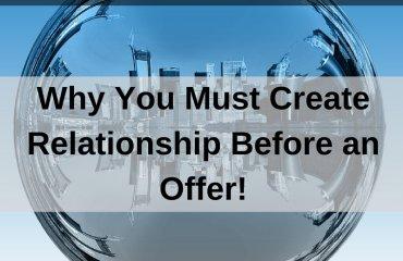Dr. Jason Carthen: Create Relationship Before an Offer