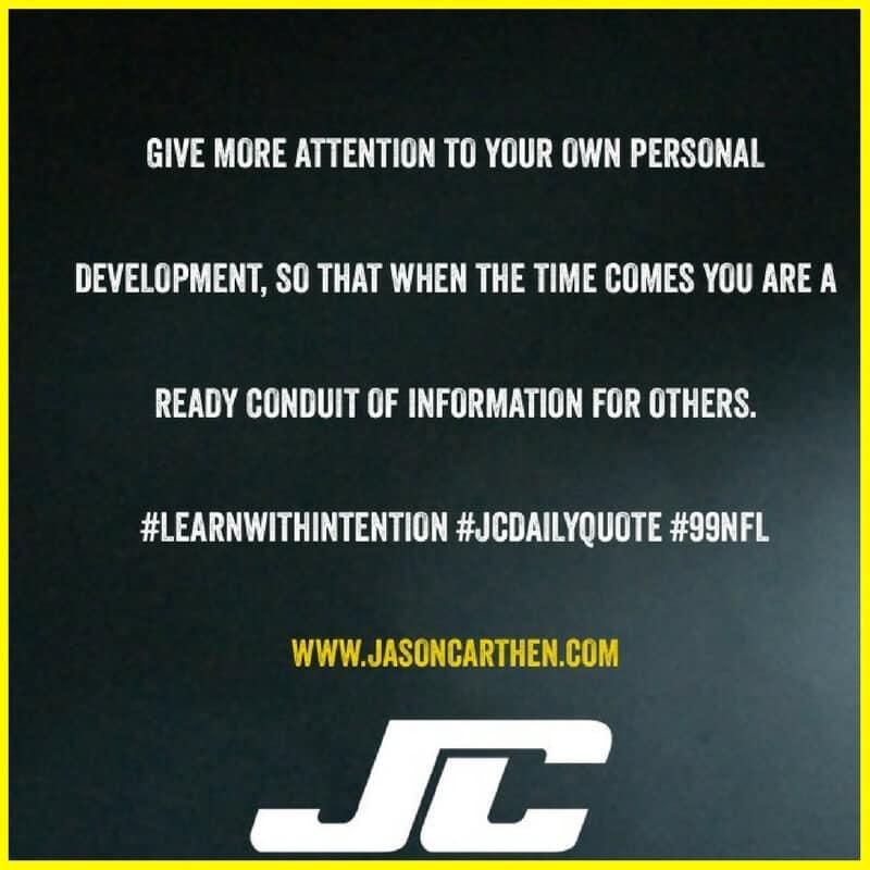 Dr. Jason Carthen: Information, Conduit, Development JC_DailyQuote_4.17.2016
