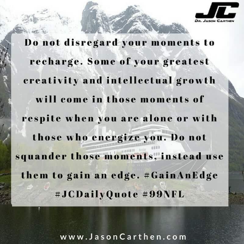 Dr. Jason Carthen: Squander, Creativity