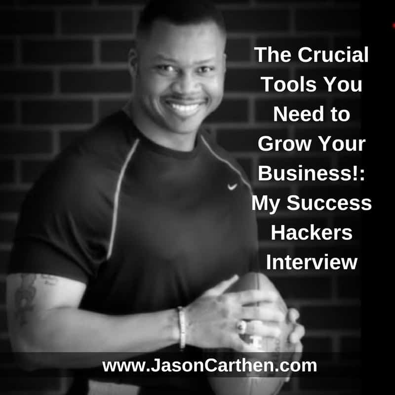 Dr. Jason Carthen: My Success Hackers Interview