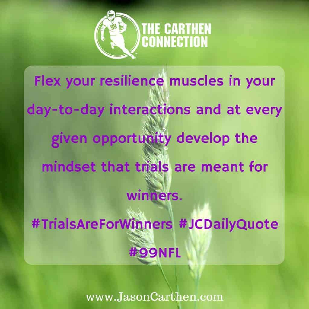Dr. Jason Carthen: resilience