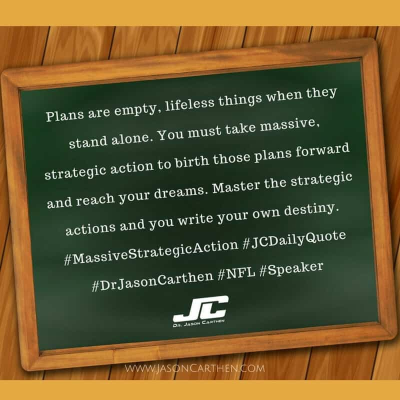 Dr. Jason Carthen: Strategic
