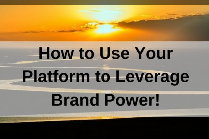 Dr. Jason Carthen: Use Your Platform to Leverage Brand Power