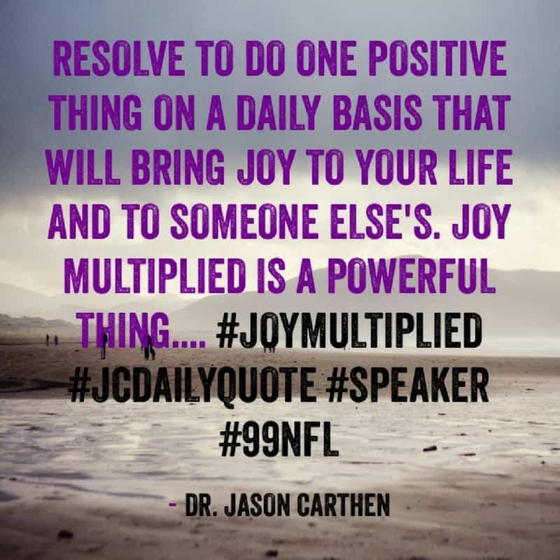 Dr. Jason Carthen: Resolve