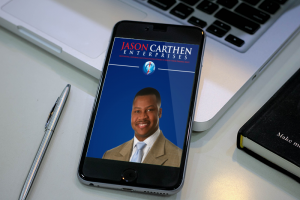Dr. Jason Carthen: Mobile App Blog page