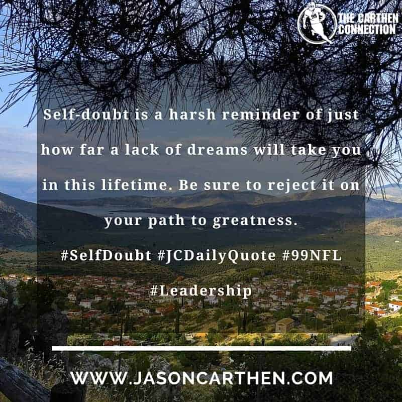 Dr. Jason Carthen: Self Doubt