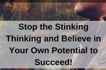 Dr. Jason Carthen: Stop the Stinking Thinking