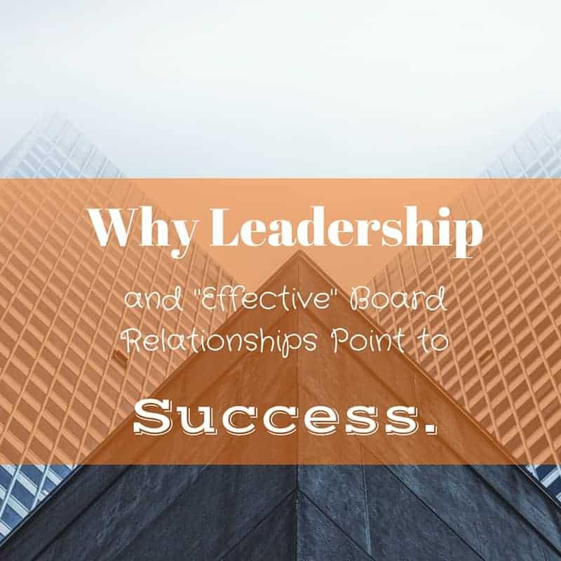 Dr. Jason Carthen: Board Relationships