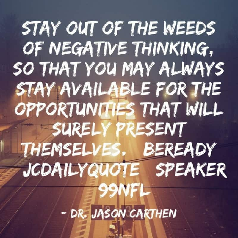 Dr. Jason Carthen: Opportunities