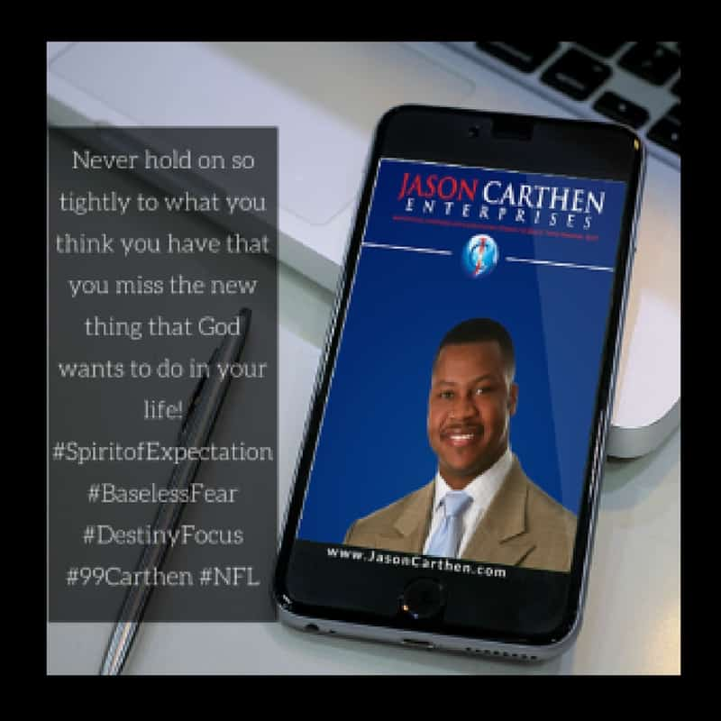Dr. Jason Carthen: Expectation