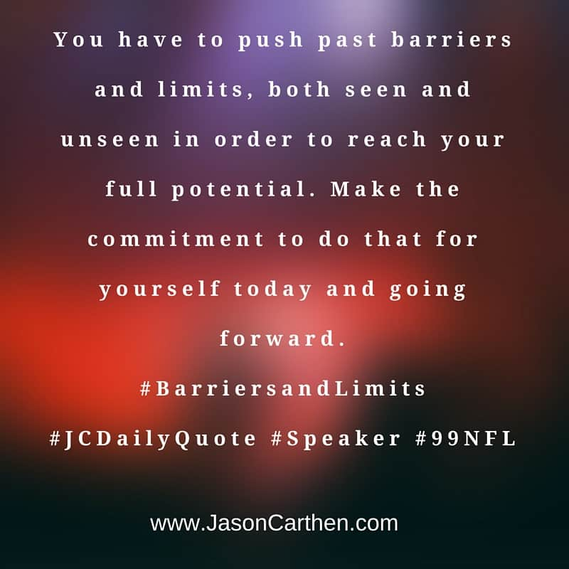 Dr. Jason Carthen: Barriers