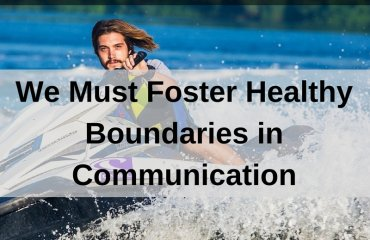 Dr. Jason Carthen: Healthy Boundaries in Communication