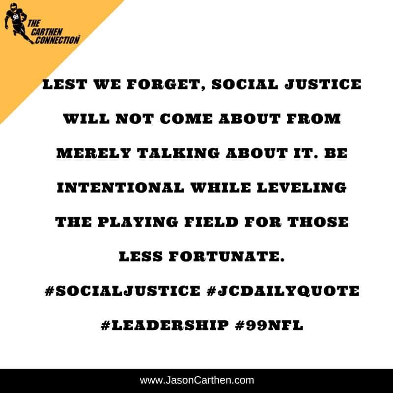 Dr. Jason Carthen: Social Justice