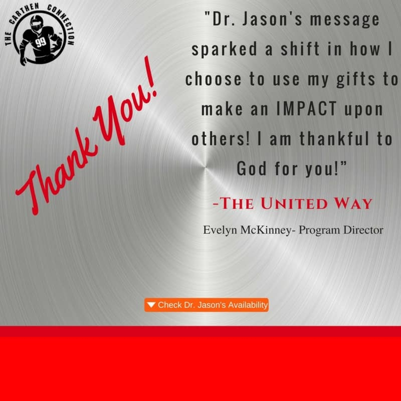 Dr. Jason Carthen: Testimonial United Way