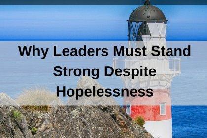 Dr. Jason Carthen: Stand Strong Despite Hopelessness