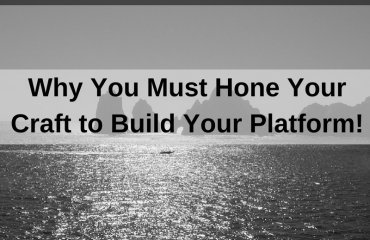 Dr. Jason Carthen: Hone Your Craft to Build Your Platform