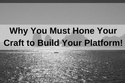 Dr. Jason Carthen: Hone Your Craft to Build Your Platform