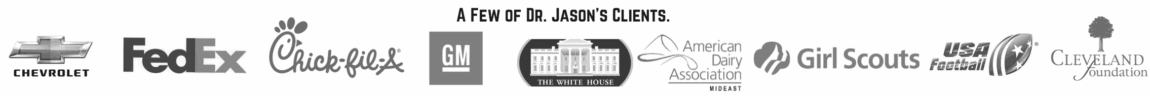 Dr. Jason Carthen: Clients Banner
