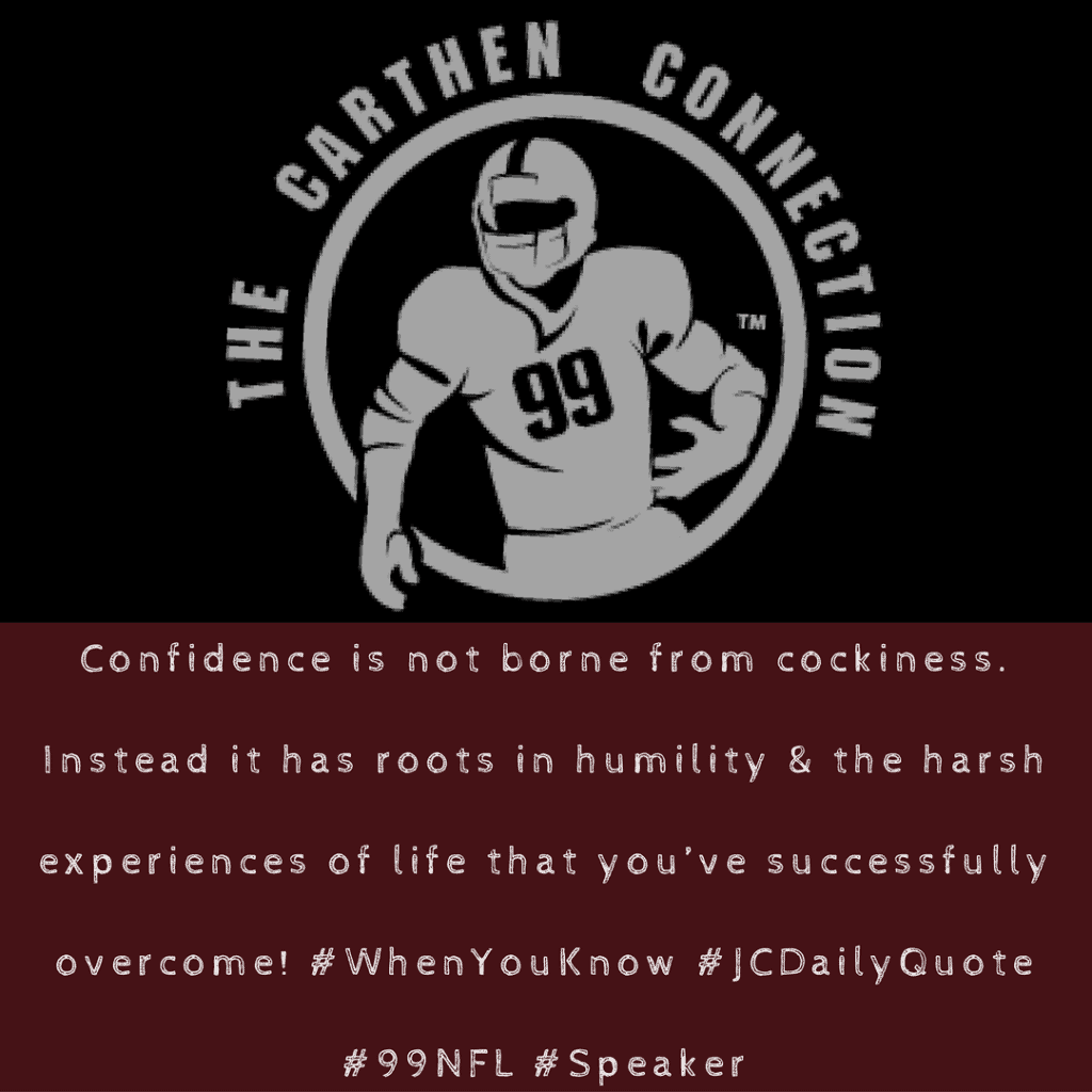 Dr. Jason Carthen: Confidence
