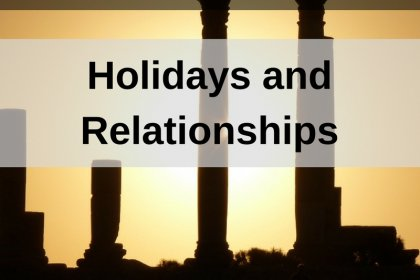 Dr. Jason Carthen: Holidays and Relationships
