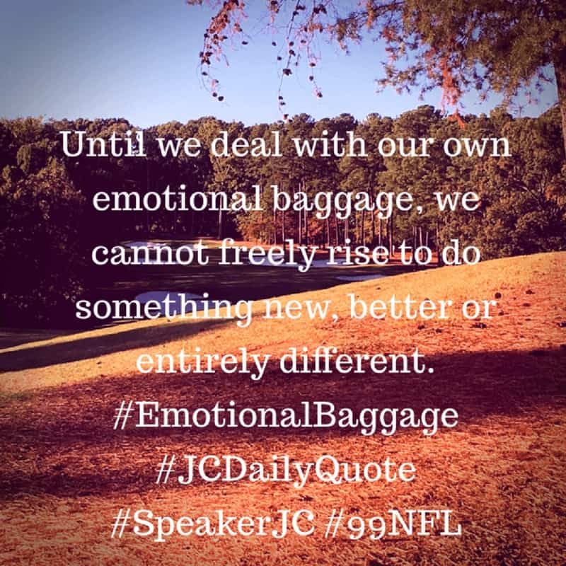 Dr. Jason Carthen: Baggage