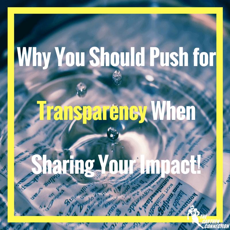 Dr. Jason carthen: Transparency