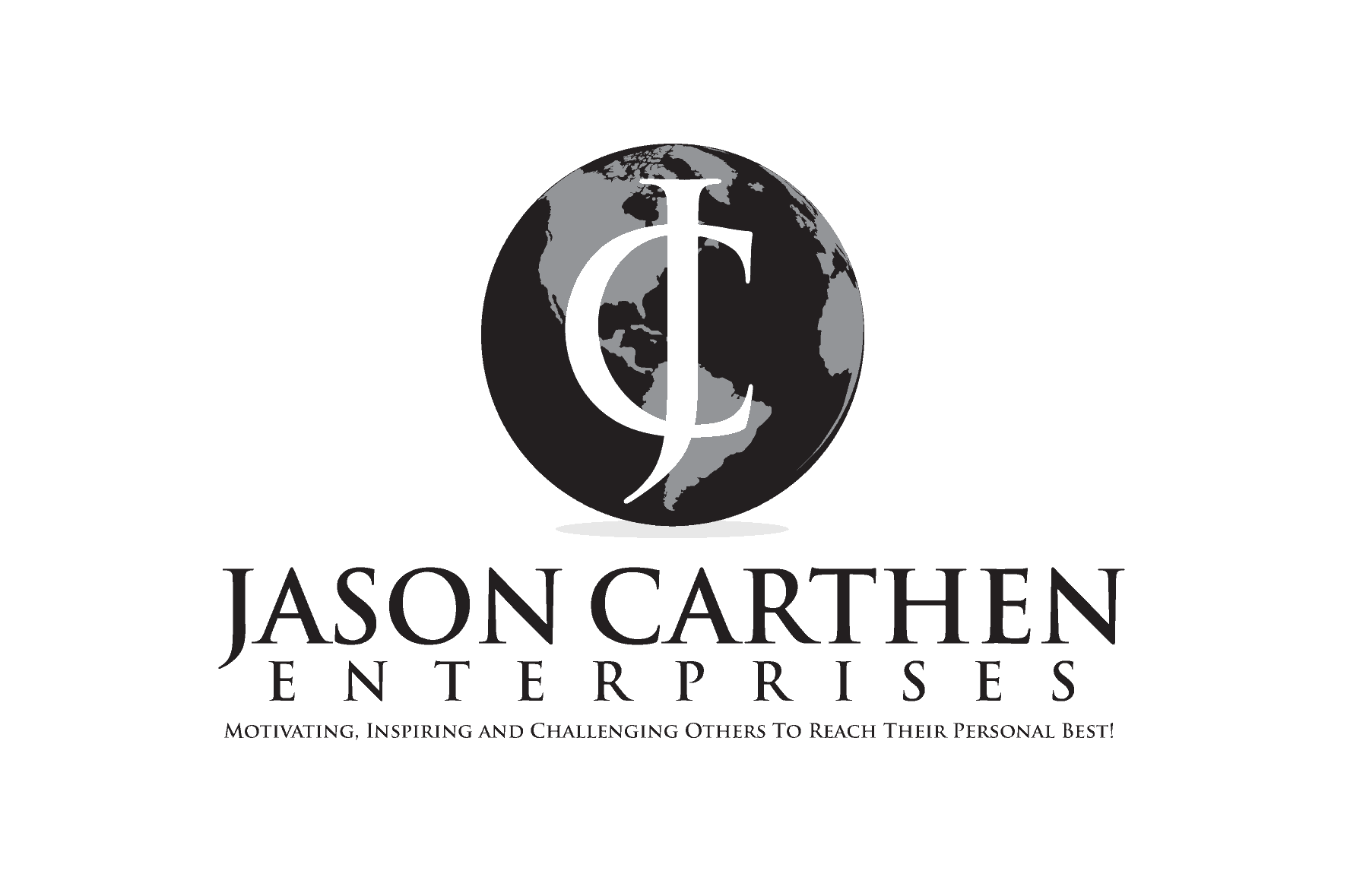 Dr. Jason Carthen Globe Logo