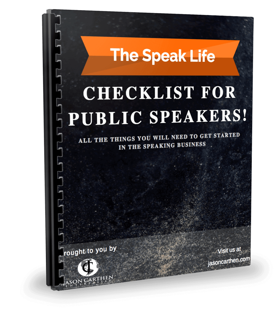 Dr. Jason Carthen: Speaklife Checklist