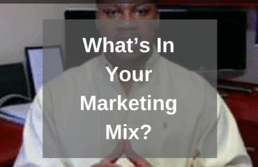 Dr. Jason_Carthen: What is Your Marketing Mix?