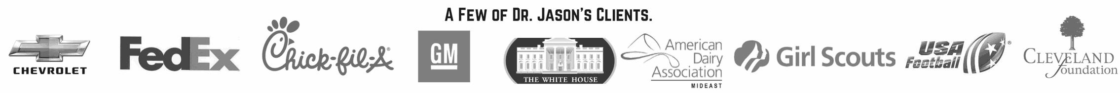 Dr. Jason Carthen: Clients Banner
