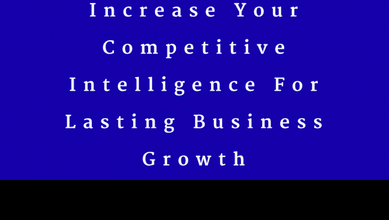 Dr. Jason Carthen: Competitive Intelligence