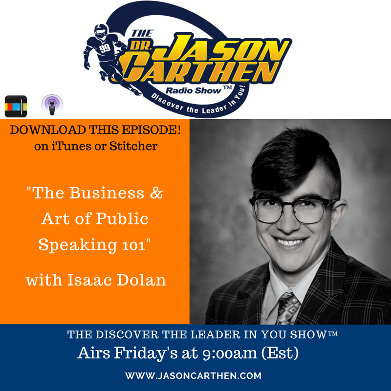 Dr. Jason Carthen: Isaac Dolan