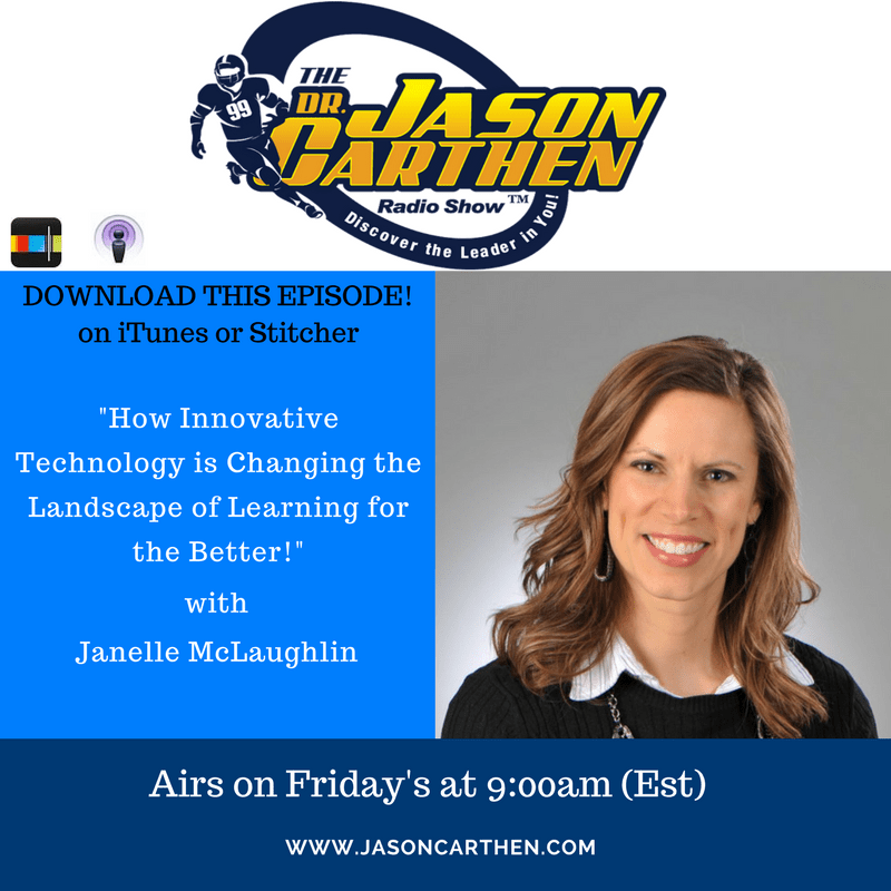 Dr. Jason Carthen: Janelle McLaughlin